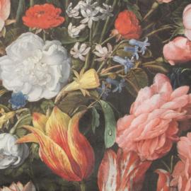 Velvet de Luxe | Bloemenmotief - Boeket