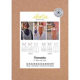 Ikatee Patterns - TORONTO Dress - Women 32-52