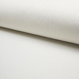 Jersey Fine Rib | Off White