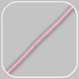 elastiekkoord - roze /  ±Ø 3mm