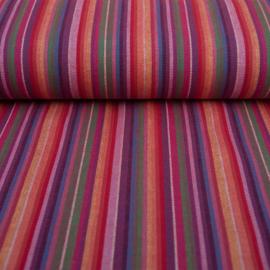 Decostof    Mexicaans multicolor    Paars - Rood