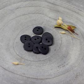 Atelier Brunette | Jaipur  Buttons  - 12 mm  - Black