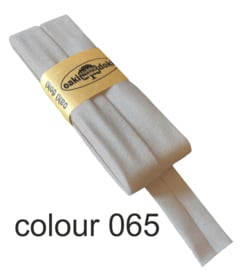 tricot biaisband | Lichtgrijs gemeleerd | col. 065