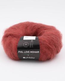 Phil Love Mohair - Grenat
