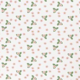 Swafing  Tricot Print | Vintage Botanical  |  Ecru