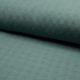 Bambino Embroidery | Dusty Green