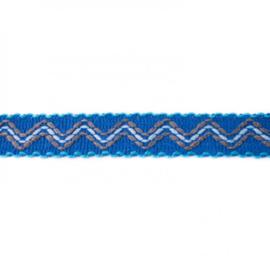 ibiza band middenblauw/ 3 cm breed