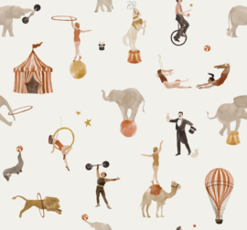 Family Fabrics | Tricot Print | Circus