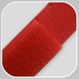 klittenband   rood breedte 20 mm