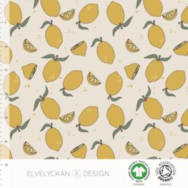 Elvelyckan design | tricot | Lemons | Organic beschikbaar 31 maart