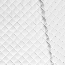 Double Gauze - Mousseline Quilted | White 050