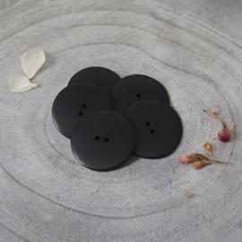 Atelier Brunette  Buttons | Corozo | Palm - Black - 25 mm