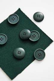 Mind the Maker | Blaze Corozo Button - 20 mm - Bottle Green
