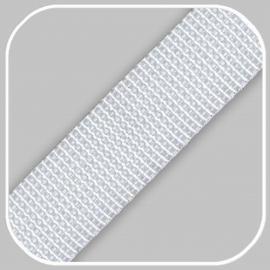Tassenband Polypropylene | Wit -  25mm