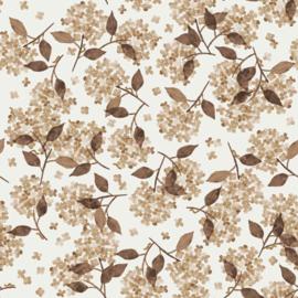 Family Fabrics | Tricot Print | Hortensia Blush