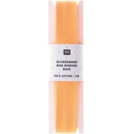Biaisband | Oranje  | 3 meter | Rico - design
