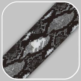 slangen print  4 cm