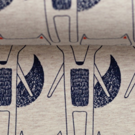 Swafing Tricot Print | Benno - Foxes