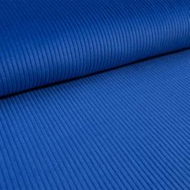 Ribcord washed  ( brede rib 4,5w) | Koningsblauw 025