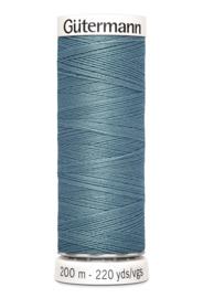 gutermann garen    200 meter   Trellis blauw 827