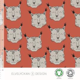 Elvelyckan Design | Snowlynx - Ginger | Tricot - Organic