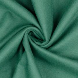 Katoen Flannel - Old Green
