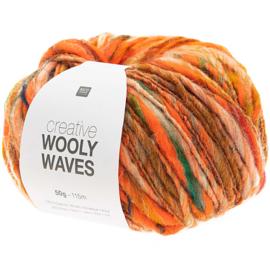 Rico Design | Creative Wooly Waves - Orange 002
