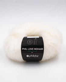Phil Love Mohair - Craie