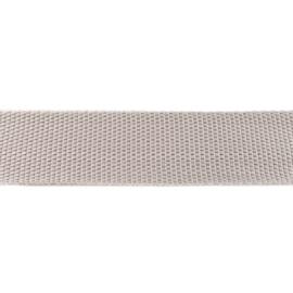 Tassenband Polypropylene | Lichtgrijs  |  40mm