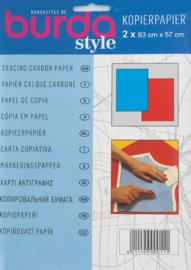 Burda kopierpapier | Blauw - Rood