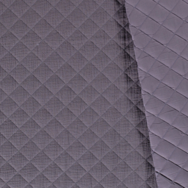 Double Gauze - Mousseline Quilted | Dark Grey  063
