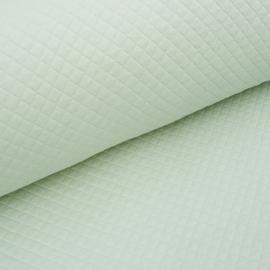Tricot uni - Wafel - Quilt | Mint