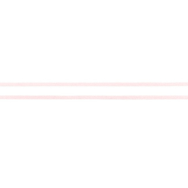 Koord Suedine -  Roze - 3 mm