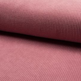 Corduroy Brede Rib | Stretch | Pink  013
