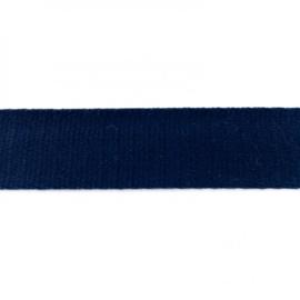 Tassenband Katoen | Donkerblauw | 4cm breed