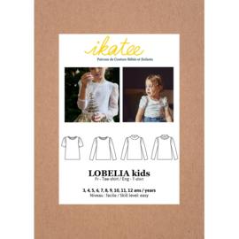 IKATEE   Lobelia  Kids Tee-shirt   3-12Y-Paper Sewing Pattern