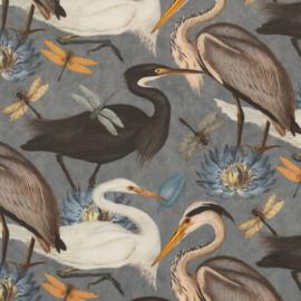 Velvet de Luxe | Heron Bird