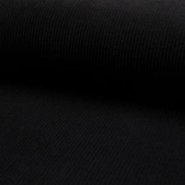 Corduroy Brede Rib | Stretch | Black 069