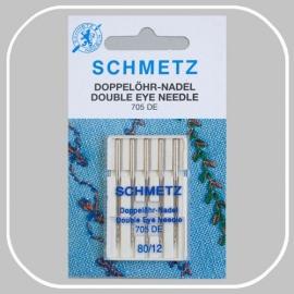 705 DE dubbel-oog naalden