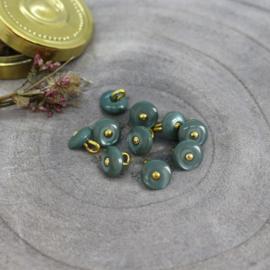 Atelier Brunette  Buttons |  Jewel - Cactus  9 mm