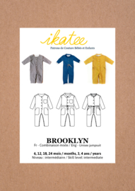 Ikatee Pattern | Brooklyn Jumpsuit - Baby 6M/4Y