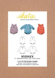 Ikatee | Sydney romper - Baby 1M/24M - Paper Sewing Pattern