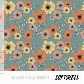 Elvelyckan design | Soft Shell  | Anemone  | Oeko tex