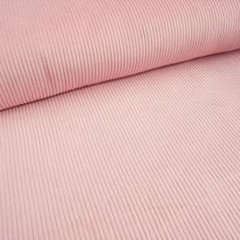 Ribcord washed  ( brede rib 4,5w) | Roze 028