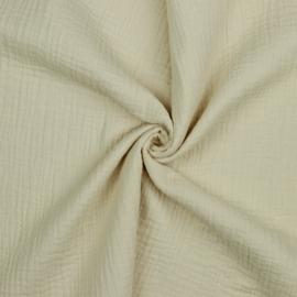 Double Gauze GOTS   Baby Cotton   Beige 028