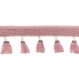 Flosjesband Uni - Oud Roze