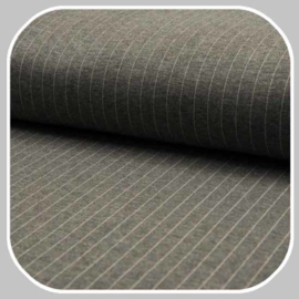jersey pin stripe| WI9714-066 | grijs