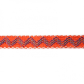 ibiza band oranje/ 3 cm breed