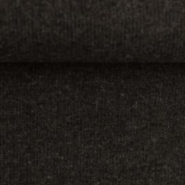 Swafing Knit Fabric - Bono - Antraciet - Black