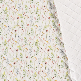 Double Gauze - Mousseline Quilted | Flowers